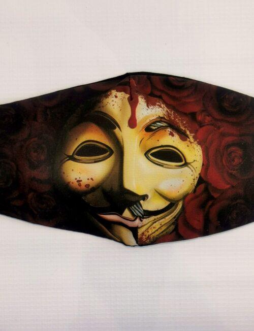 Μάσκα Anonymous Εφηβική
