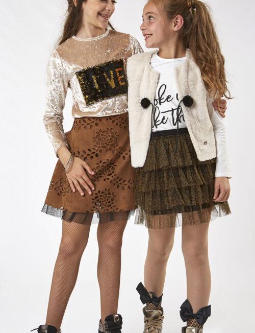 EBITA ΣΕΤ Μπλούζα και Φούστα