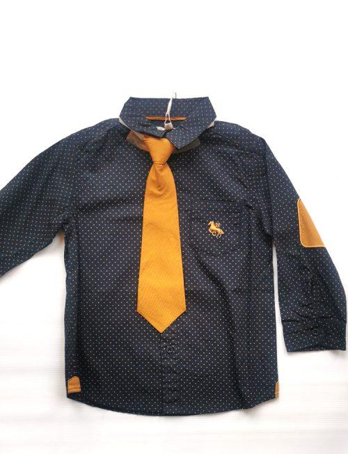 NEW COLLEGE Πουκάμισο με Γραβάτα