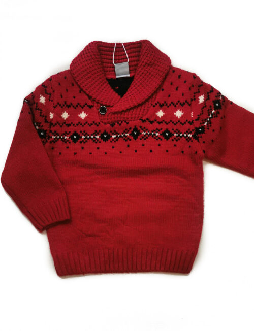 ATIVO Μπλούζα Πλεκτή Κόκκινη
