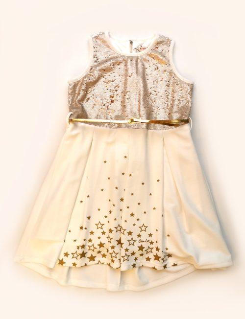 Φόρεμα με Χρυσή Ζώνη