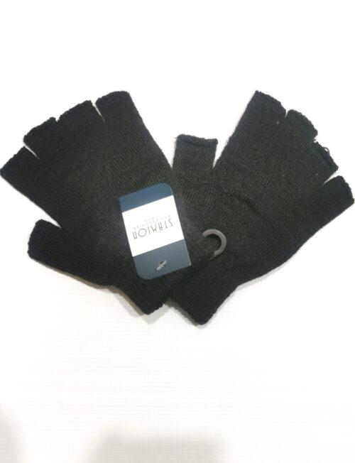 Γάντια Κοφτά Γκρι