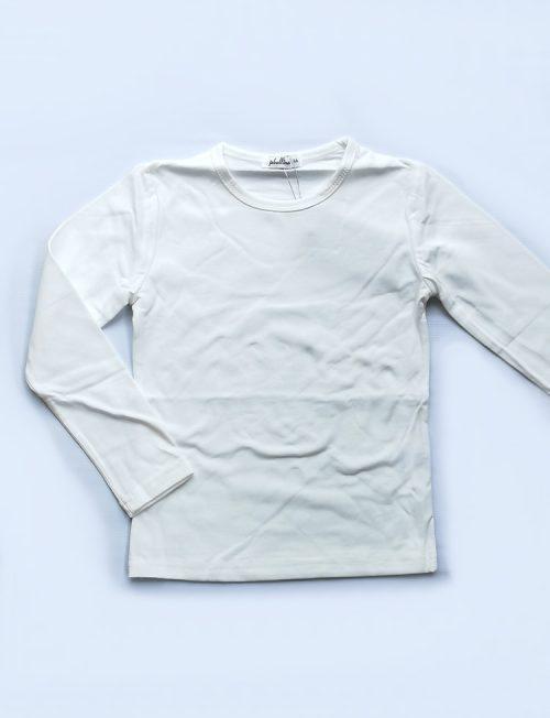 Μπλούζα Μονόχρωμη Εκρού (off white)