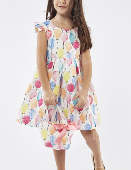 EBITA Φόρεμα Μπαλόνια με Τσαντάκι