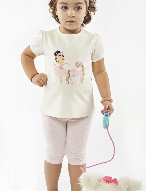 EBITA ΣΕΤ Μπλούζα Unicorn με Κολάν