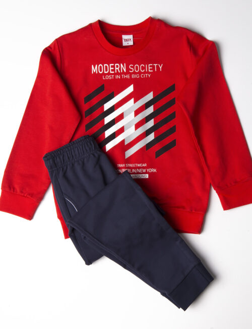 TRAX ΣΕΤ Εποχιακή Μπλούζα και Παντελόνι