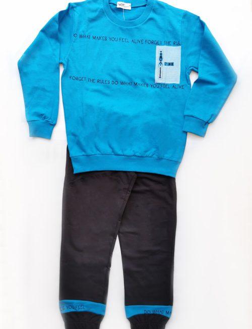 NEK ΣΕΤ Εποχιακή Μπλούζα και Παντελόνι