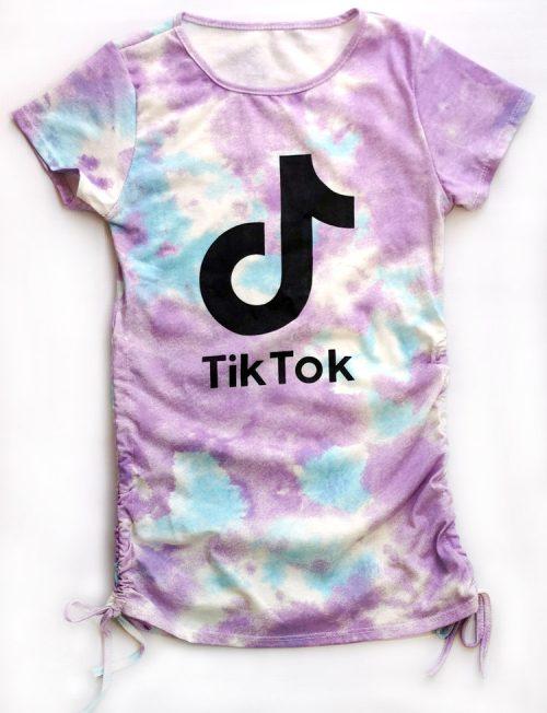 TIK TOK Tie Dye Φόρεμα
