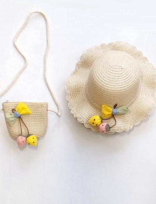 Καπέλο Παιδικό με Τσαντάκι