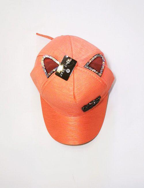 Καπέλο Παιδικό Αυτάκια Στρας