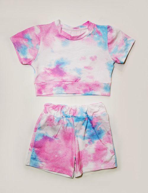 ΣΕΤ Tie Dye Μπλούζα και Σορτς