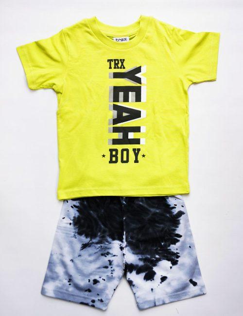 TRAX ΣΕΤ Μπλούζα και Βερμούδα Tie Dye