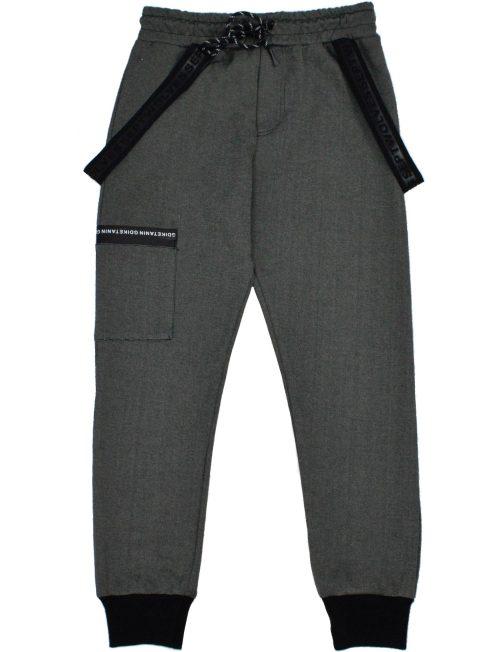 HASHTAG Παντελόνι Φόρμας με Λουράκια