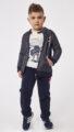 HASHTAG Φόρμα 3 τμχ Ζακέτα, Μπλούζα και Παντελόνι