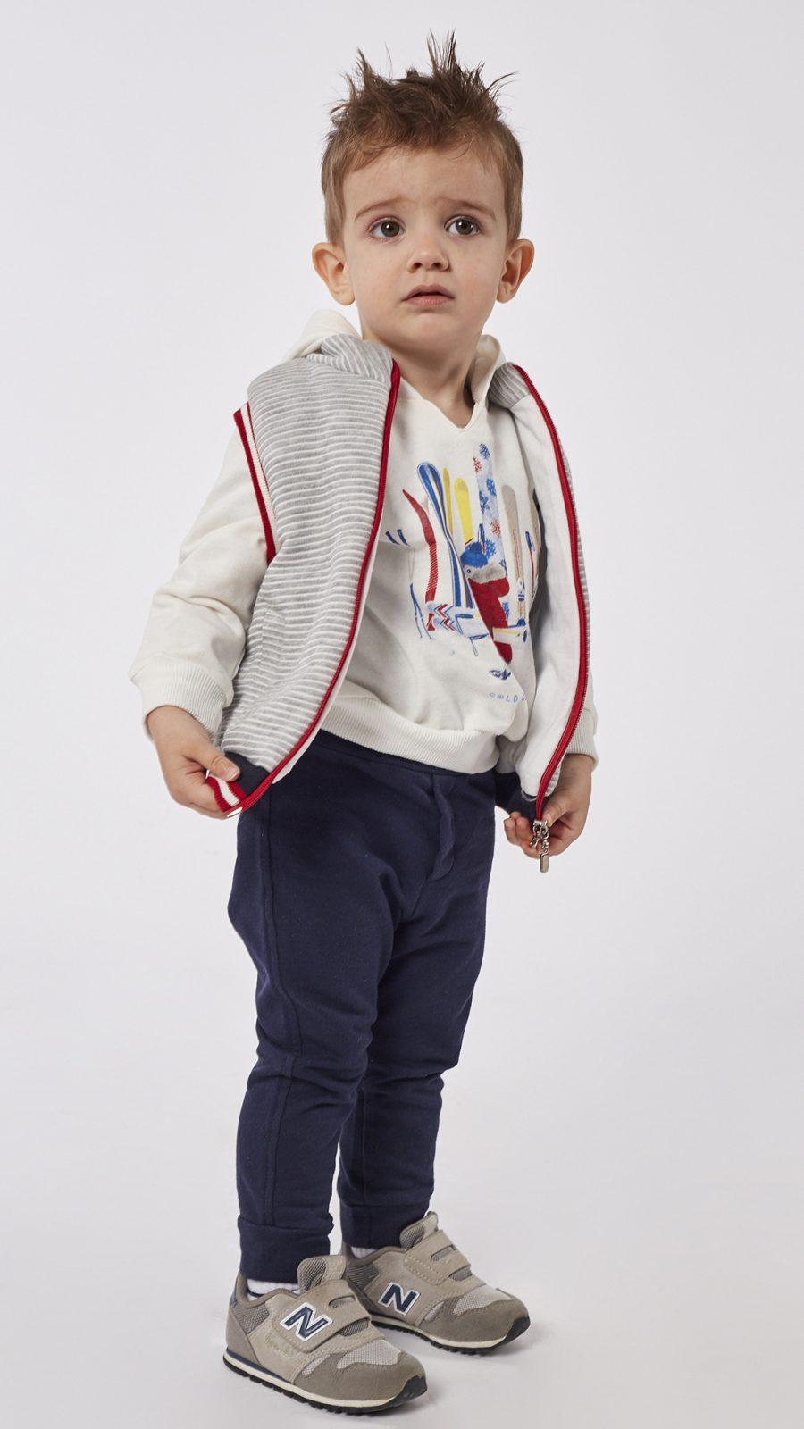 HASHTAG Φόρμα 3τμχ Γιλέκο, Μπλούζα και Παντελόνι