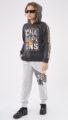 HASHTAG Φόρμα Εποχιακή Μπλούζα και Παντελόνι
