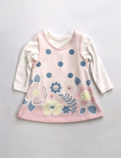 RESTART Φόρεμα με Μπλούζα