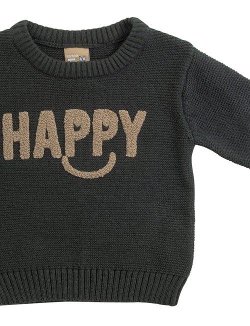FUNKY Πλεκτή Μπλούζα Happy