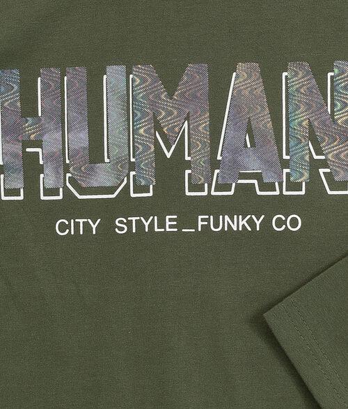 FUNKY Μπλούζα Human