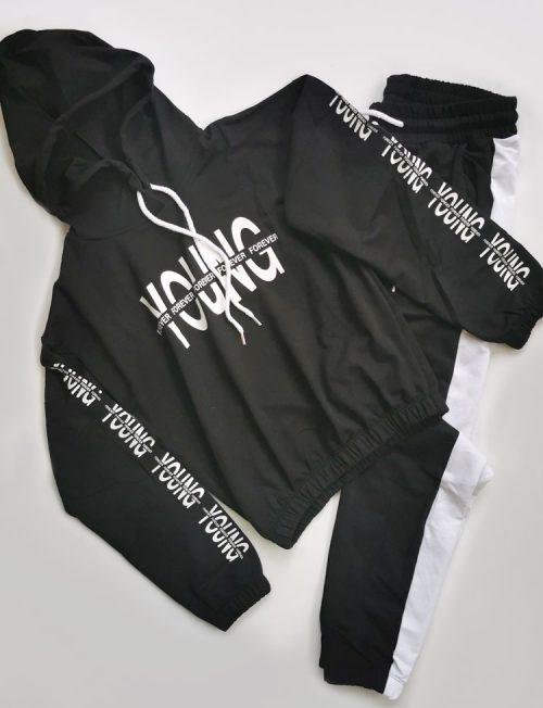 Εφηβική Φόρμα Μπλούζα και Παντελόνι Young