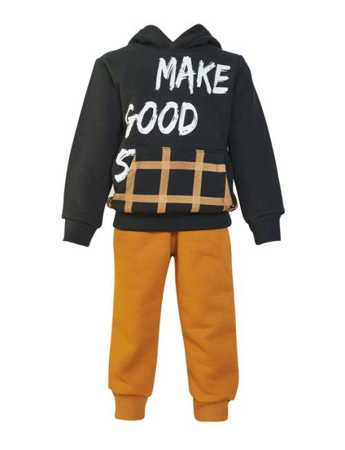 RESTART Φόρμα Μπλούζα Good και Παντελόνι